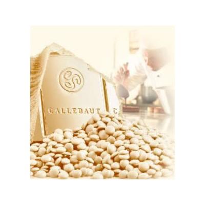 Bílá belgická čokoláda Callebaut 1 kg
