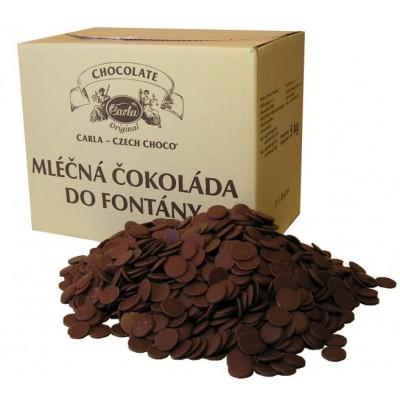 Mléčná čokoláda do fontány Carla 5 kg