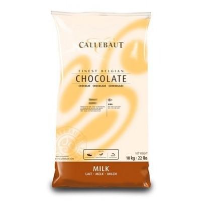 Belgická čokoláda Callebaut 10 kg mléčná