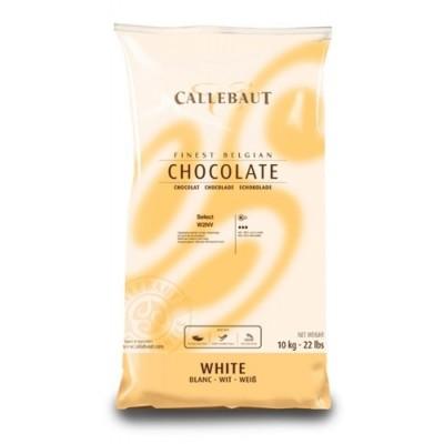Belgická čokoláda Callebaut 10 kg bílá