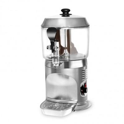 Výrobník horké čokolády 5 litrů - stříbrný