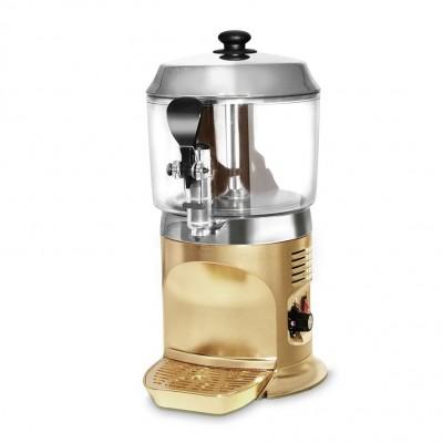 Výrobník horké čokolády 5 litrů - zlatý