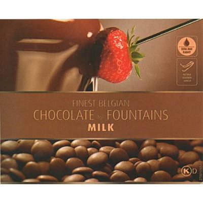 Mléčná čokoláda Callebaut do fontány 1 kg